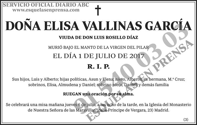 Elisa Vallinas García